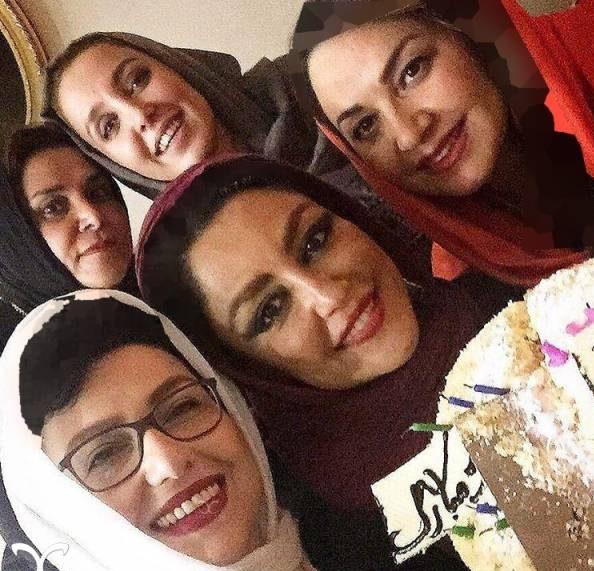 شقایق فراهانی در روز تولدش