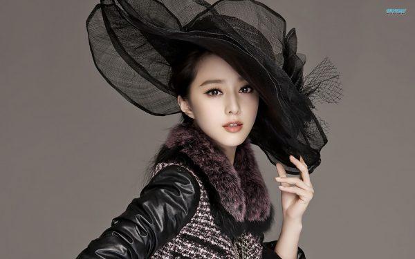 عکس دختر چینی زیبا فن بینگ بینگ
