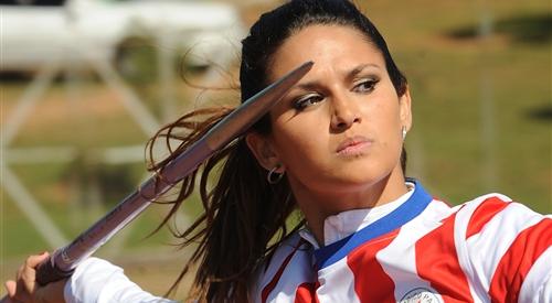 Leryn-Franco رشته پرتاب نیزه از کشور پاراگوئه