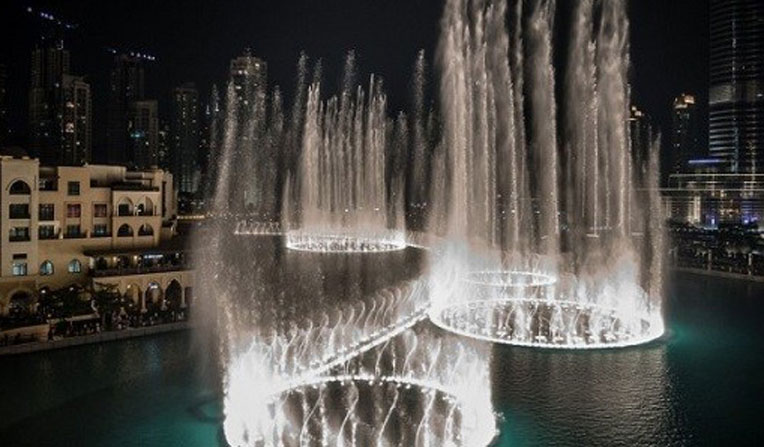 آب نمای دوبی، امارات متحده عربی