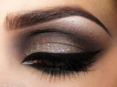 مدل آرایش مناسب با شکل چشم ها (چشم گود,درشت,ریز و ...)