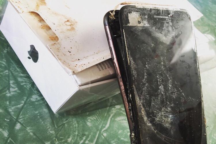 انفجار آیفون 7 | گوشی آیفون 7 اپل منفجر شد!