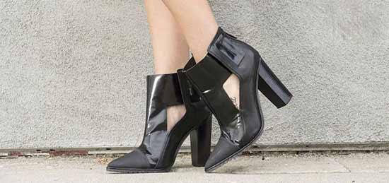 کفش پاشنه بلند مشکی