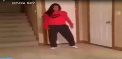 کلیپ رقص زن و حادثه وحشتناکی که برای رخ می دهد!