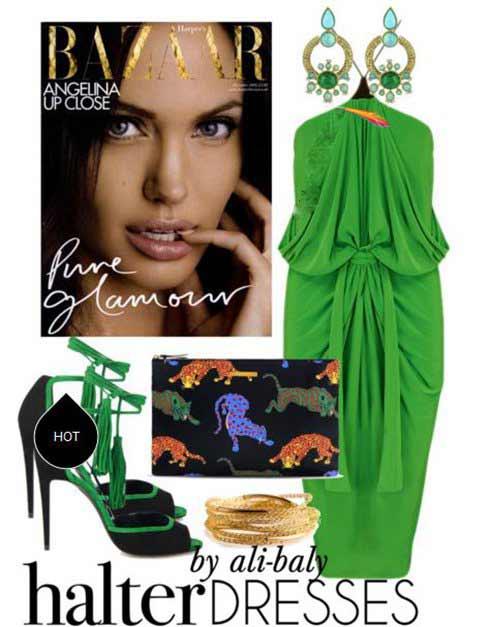 عکس های ست لباس شب و لباس مجلسی آنجلینا جولی
