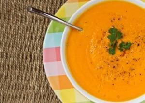 طرز تهیه سوپ سیب و زنجبیل