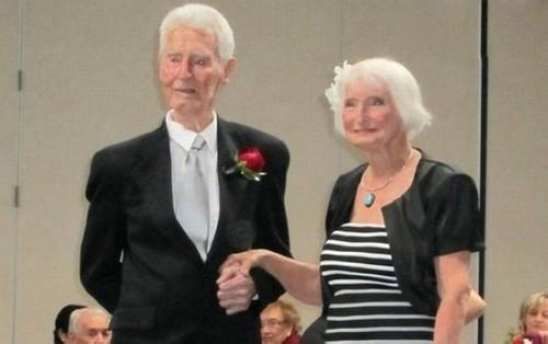 عکس های جالب و دیدنی از پیرترین عروس و داماد دنیا!