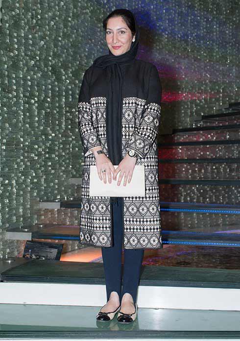 عکس مدل لباس بهاران بنی احمدی در اکران خصوصی فیلم هیهات