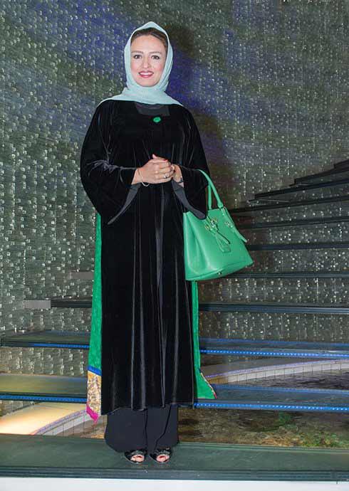 عکس مدل لباس گلاره عباسی در اکران خصوصی فیلم هیهات