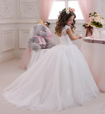 عکس های جدیدترین مدل لباس عروس بچه گانه دختر بچه ها زیبا