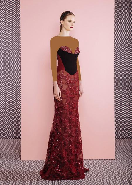 مدل لباس مجلسی جدید _ مدل لباس مجلسی برند GEORGES HOBEIKA