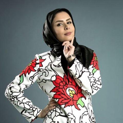 عکس نجمه جودکی مجری تلویزیون