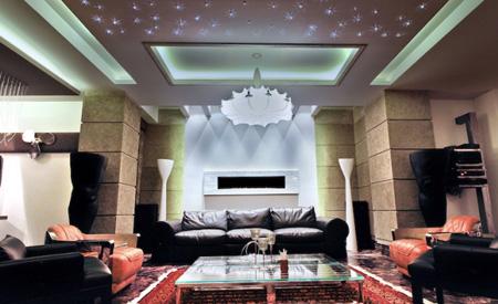 عکس و ایده های زیبا نورپردازی سقف در طراحی داخلی منزل