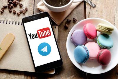 آموزش دانلود فیلم ها و ویدیوهای یوتیوب Youtube با تلگرام