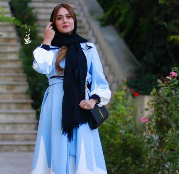 مدل لباس پریناز ایزدیار در جشن