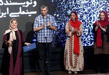 مدل لباس بازیگران زن در جشن منتقدان سینما - شبنم مقدمی