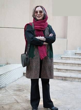 عکس افسانه بایگان - مدل لباس بازیگران زن ایرانی در مراسم منتقدان سینما