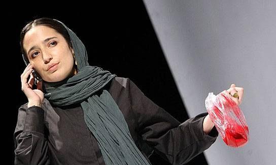 عکسهای نگار جواهریان در نمایش ایوانف