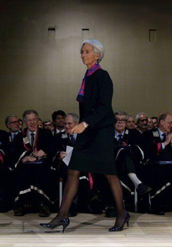 کریستین لاگارد، مدیرعامل صندوق بین المللی پول