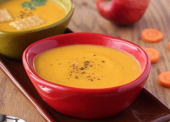 سوپ سیب و زنجبیل