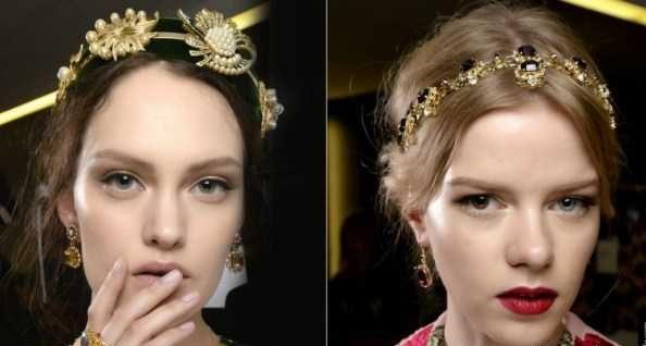 مد آرایش صورت مدلینگ های فشن شوی 2016-2017