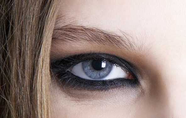 مدل آرایش چشم و سایه چشم هفته مد نیویورک