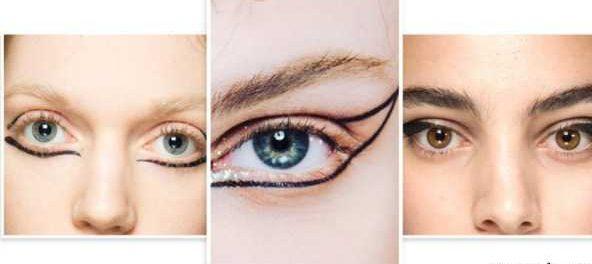 مدل خط چشم و سایه چشم در هفته مد