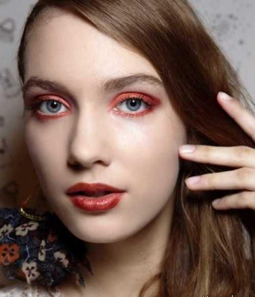 زیباترین مدل آرایش چشم در هفته مد نیویورک