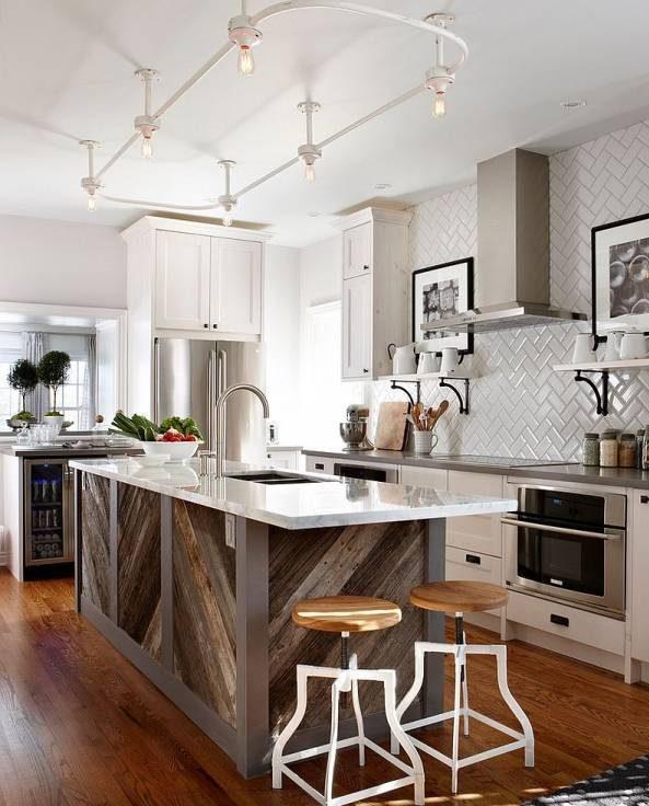 مدل کابینت جزیره مدرن , جدیدترین مدل کابینت جزیره ای وسط آشپزخانه