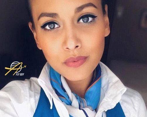 دختر ایرانی مهماندار هواپیمایی ایران