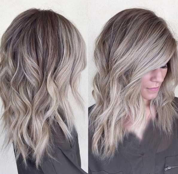 رنگ مو ومش