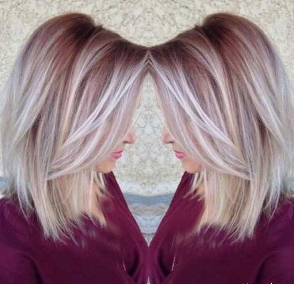 زیباترین مدل های رنگ و مش مو