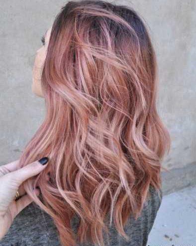 مدل مو رنگ مو و مش موهای تیکه تیکه