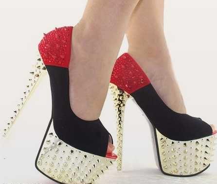 گالری تصاویر زیبای مدل کفش زنانه پاشنه بلند شیک و مجلسی