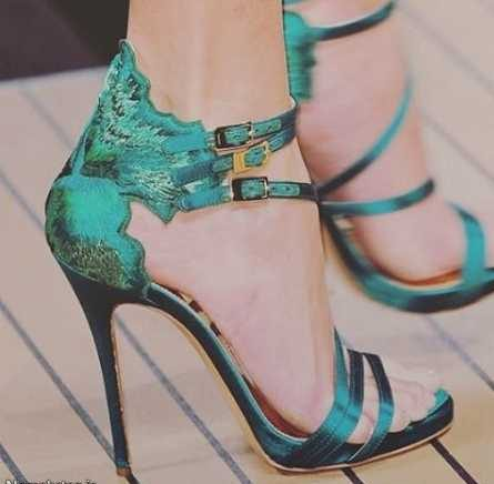 جدیدترین مدل کفش مجلسی پاشنه بلند زنانه 2017