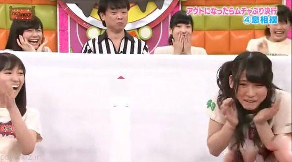 مسابقه چندش آور توسط دخترهای ژاپنی +عکس