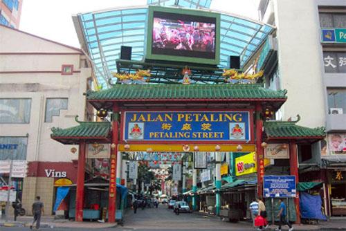 محله چینی ها کوالالامپور