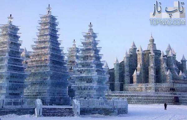 Photo of تصاویری بسیار زیبا از بناهای یخی جهان