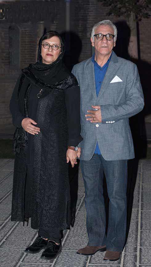 عکس مسعود رایگان و همسرش رویا تیموریان