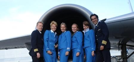 رابطه جنسی مهمانداران زن هواپیما با خلبان حین پرواز!
