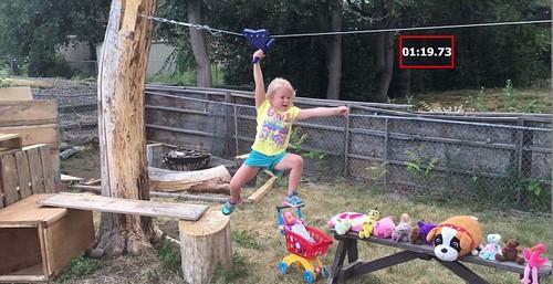 عکس های دختر ناز 5 ساله که یک نینجا است!