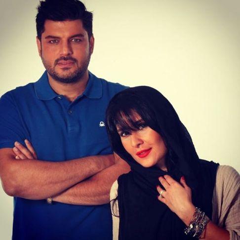 عکس جدید سام درخشانی و همسرش عسل امیرپور در سالگرد ازدواجشان