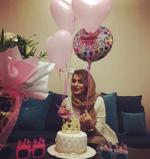 عکس های جدید سمانه پاکدل در جشن تولدش