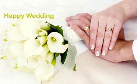 عکس کارت پستال روز ازدواج