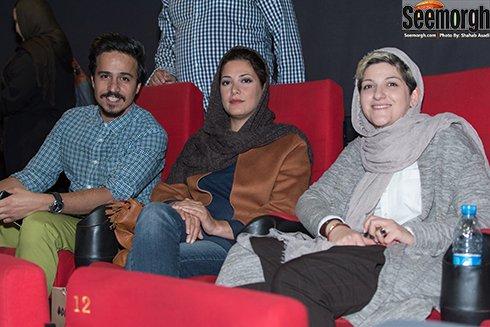 عکس جدید ملانی در کنار طناز طباطبایی و حسین سلیمانی در اکران فیلم اروند