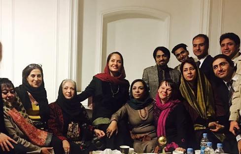 عکس جدید مهناز افشار و فاطمه معتمدآریا در افغانستان!