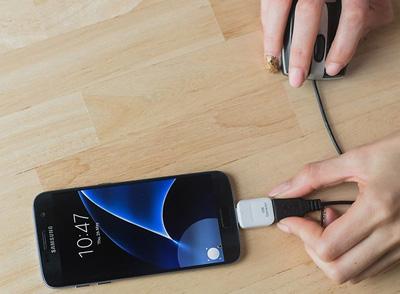 کابل OTG مبدلی است برای اتصال مستقیم فلش مموری به گوشی هوشمند