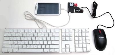 نحوه اتصال کابل otg به گوشی