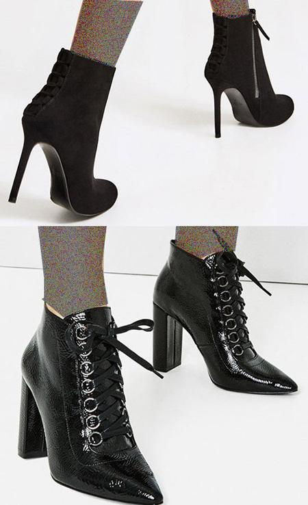 مدل کفش پاییزی زنانه برند معتبر زارا