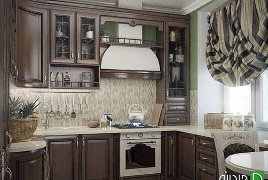 مدل پرده آشپزخانه